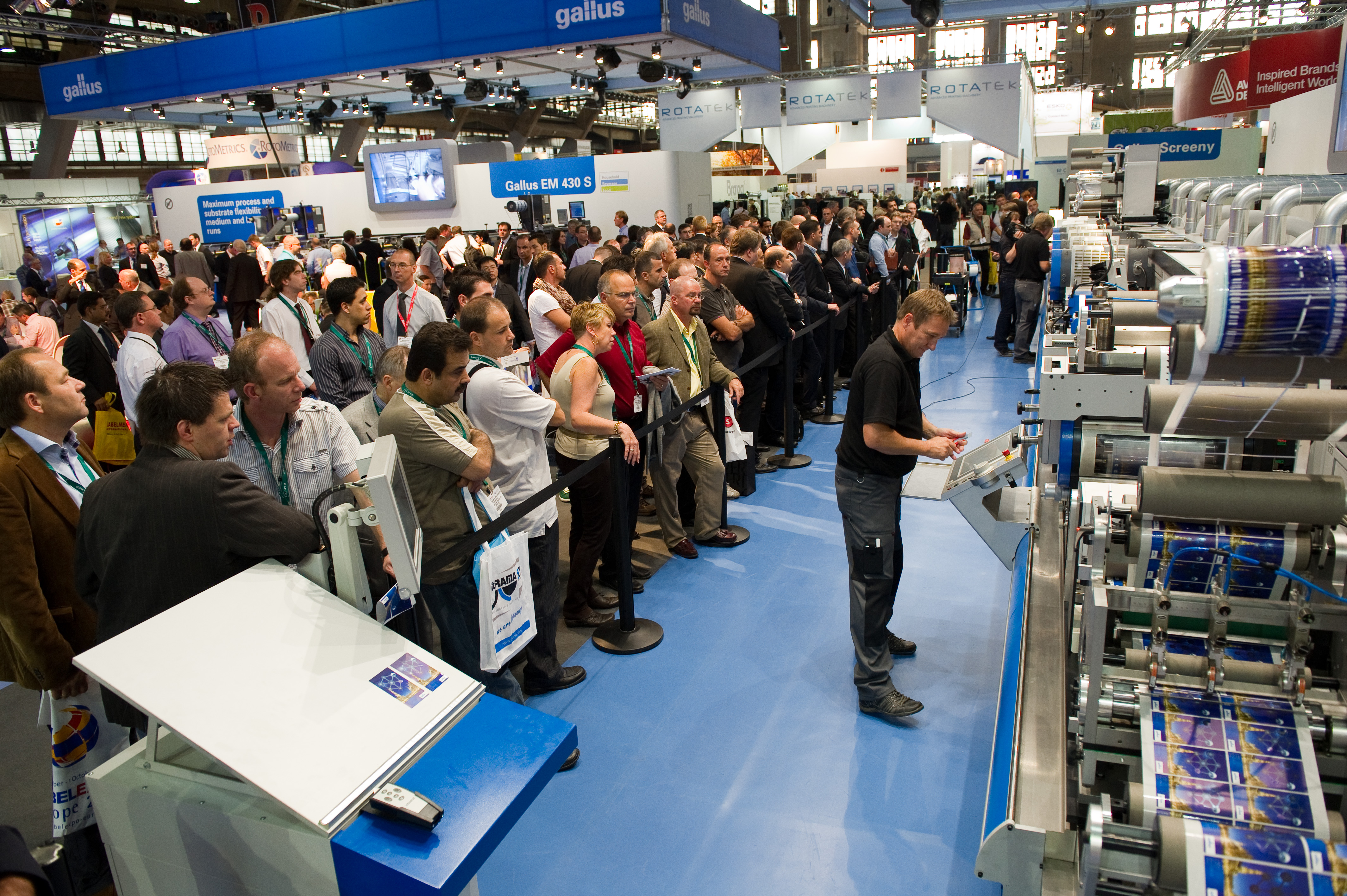 Labelexpo Europe 2013 Grows Attendance, Exhibitors, Showfloor alt