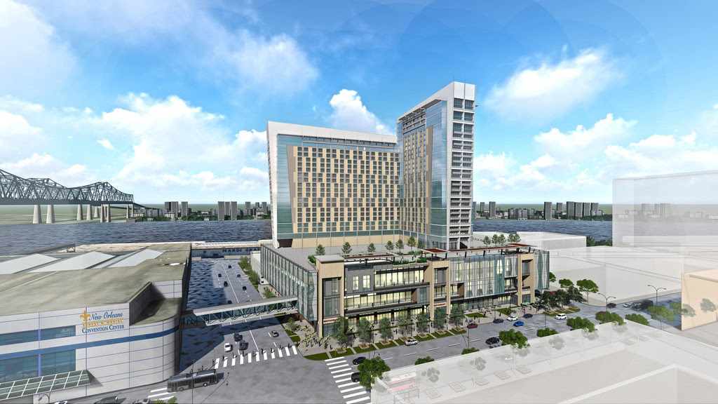 Plans Released For New Hotel Adjacent To New Orleans
