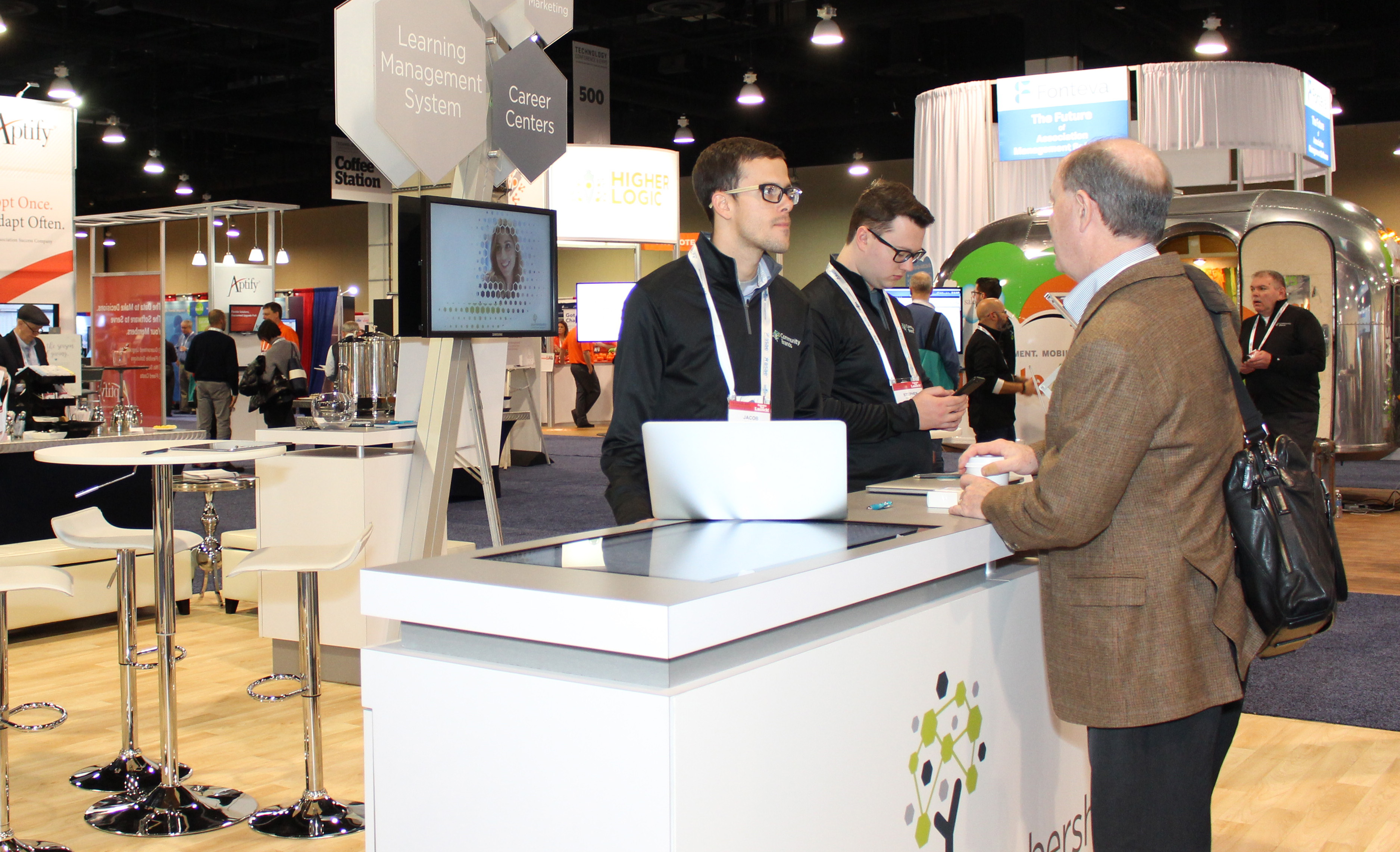 Technology Expo Standsaur : Asae technology conference emphasized innovation