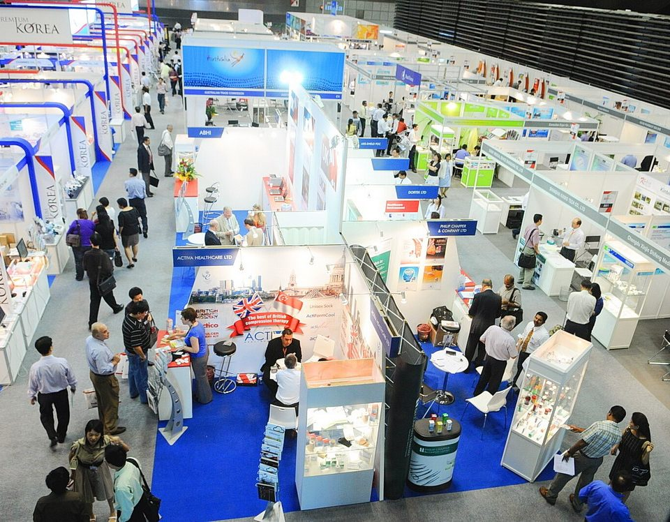 Expo Stands Trade Fair 2017 : Medical fair thailand s record results reflect