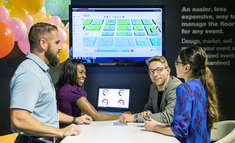 Freeman launches blueprint digital floor plan management system freeman has launched blueprint a web based floor plan management system designed to transform the way show organizers plan manage and sell event booth malvernweather Image collections