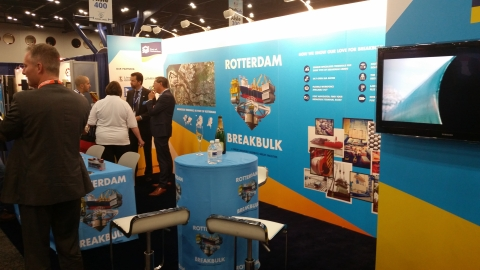 Breakbulk Americas Attracts 5 000 Attendees 300 Exhibitors To Houstons George R Brown Cc Tsnn Trade Show News