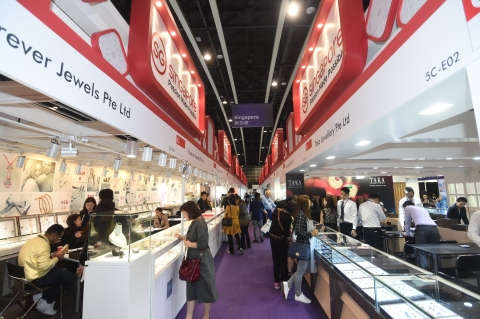 27 March 3 And The 35th Hong Kong International Jewellery Show 1 5 Concluded With Partition From